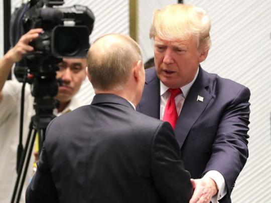 После встречи с Путиным Трампа обвинили в предательстве интересов США