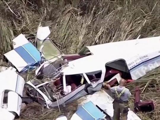 Во Флориде в США столкнулись два самолета: трое погибших