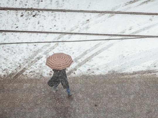 Снег посреди лета: российский Норильск снова удивил