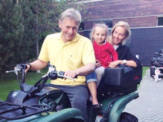 В семье Дмитрия Пескова ожидается пополнение