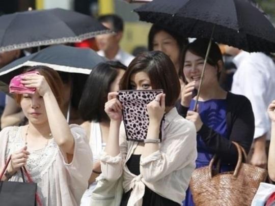 Стал известно, сколько человек погибло от жары в Японии