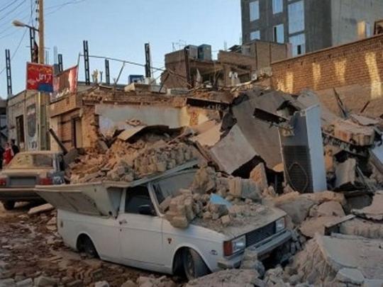За сутки в Иране произошли три мощных землетрясения
