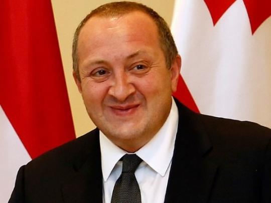 В США оштрафовали президента Грузии