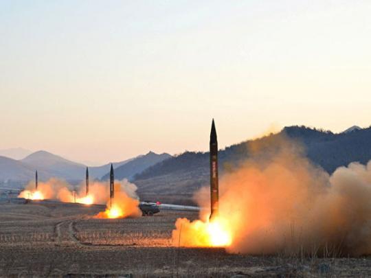 КНДР заподозрили в разработке новых баллистических ракет