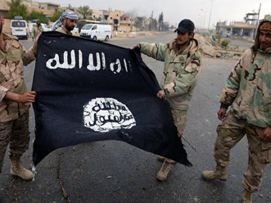 Флаг боевиков ИГИЛ