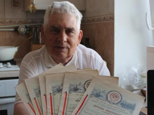 80-летний радиофизик Владимир Бушный— студент из Харькова