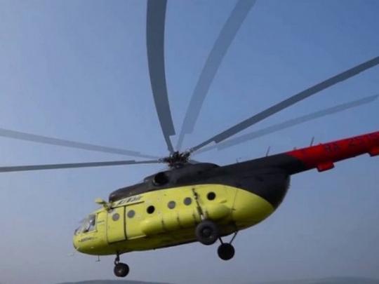 Названа причина крушения вертолета в России