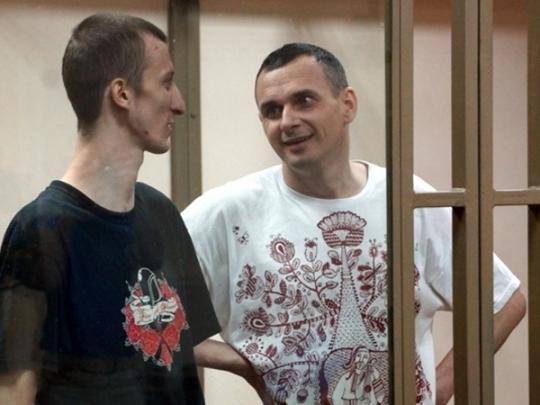 Юрист  объявил , что пульс Сенцова упал до40 ударов заминуту