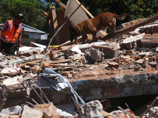 Число погибших в результате землетрясения в Индонезии достигло 347