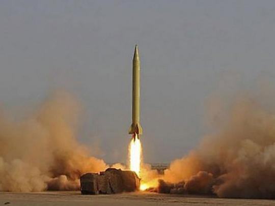 Иран провел испытательный пуск баллистической ракеты