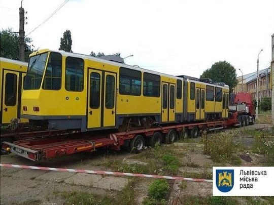 Узакупленных уГермании трамваем воЛьвове не раскрываются двери— «ФАКТЫ»