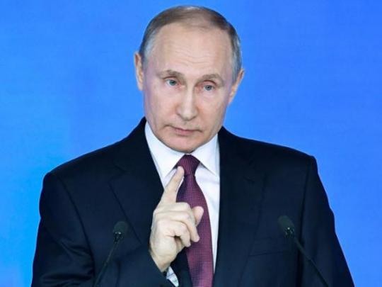 В России снова упал рейтинг Путина (графика)