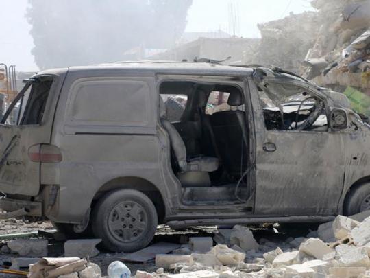В Сирии взорвался склад с боеприпасами: погибли десятки людей, в том числе 12 детей