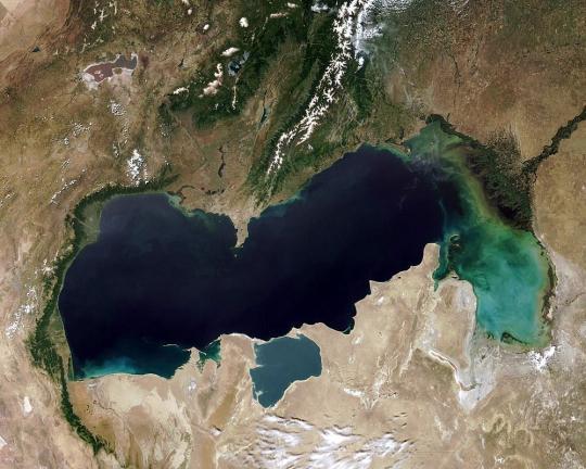 Каспийское море поделили