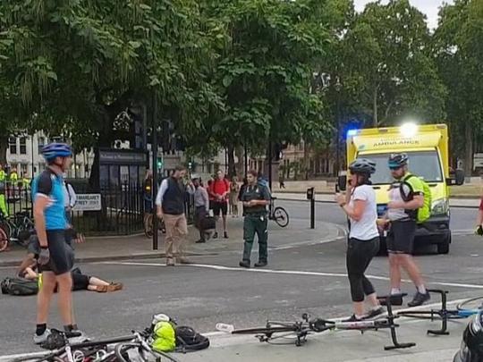 Наезд на людей в Лондоне квалифицирован, как теракт