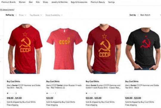 Walmart отзовет товары ссоветской символикой после обращения посла Литвы вСША