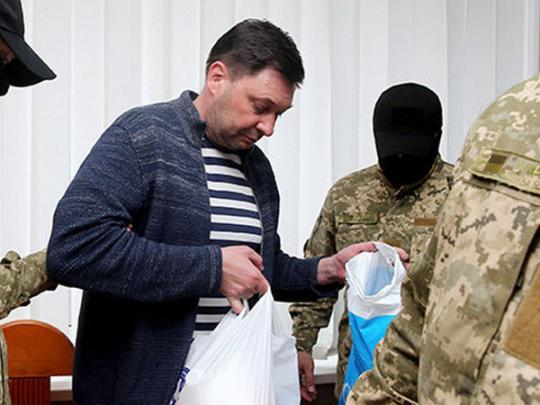 Арестованный СБУ репортер  Вышинский получил вРФ премию имени Политковской
