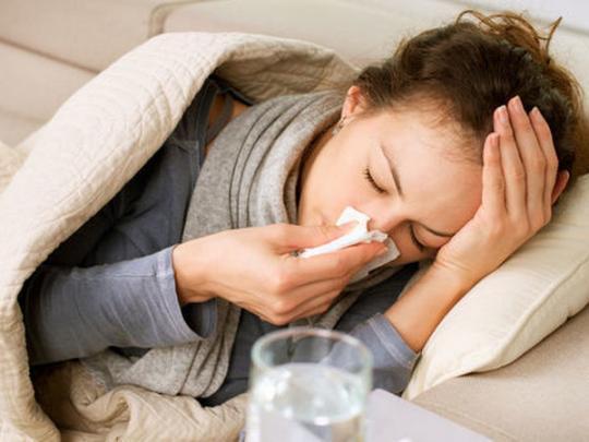 больная гриппом