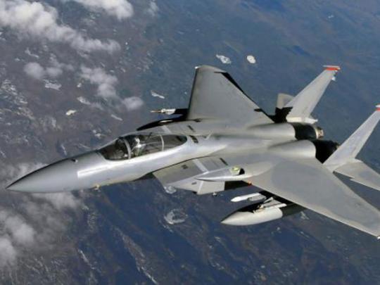 Истребитель пятого поколения F-15C Eagle