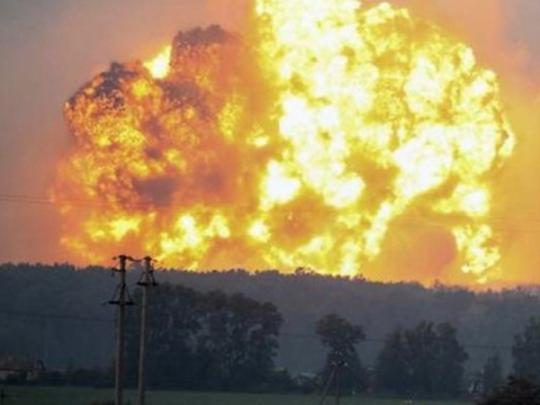 Украина лишились практически  половины всех боеприпасов из-за взрывов наскладах