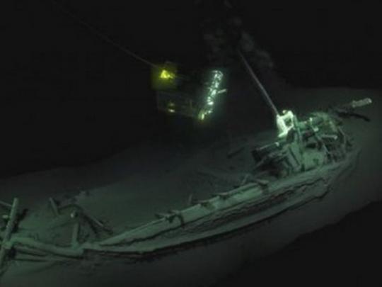 Древнейший затонувший корабль отыскали вЧерном море