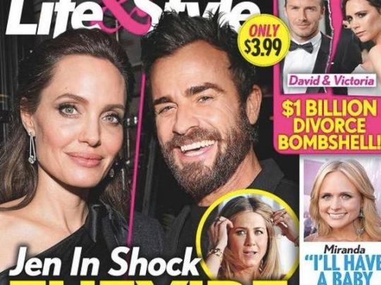 Джоли закрутила роман сбывшим мужем Энистон