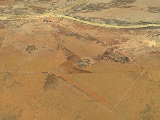 Пустыня на картах Google