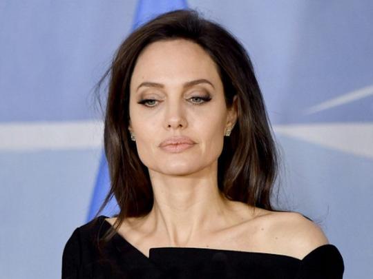 Анджелина Джоли посетила кинофестиваль, адресованный против сексуального насилия