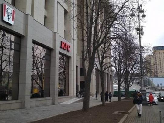 ресторанбыстрого питания в центре Киева