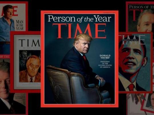 «Человеком года» поверсии Time стали опальные корреспонденты
