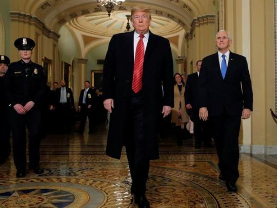 Трамп отменил поездку наэкономический форум вДавосе из-за шатдауна