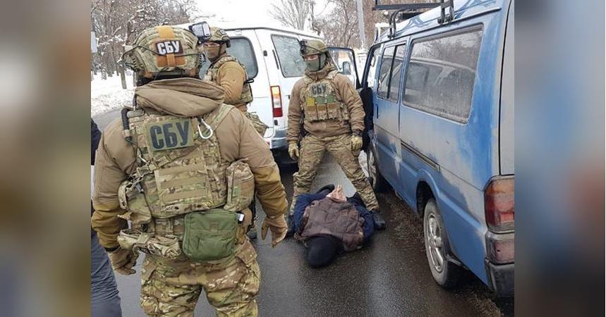 СБУ обезвредила диверсанта, готовившего теракты во время президентских