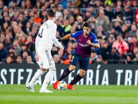 Смотреть футбол кубок испаний барселона- реал мадрид