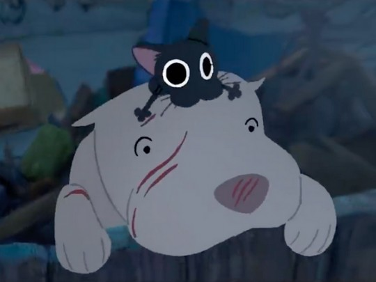 Pixar представила короткометражный мультфильм «Китбуль»