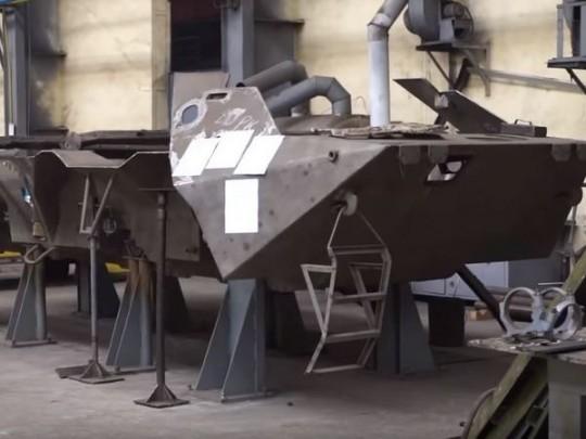 Ремонт военной техники