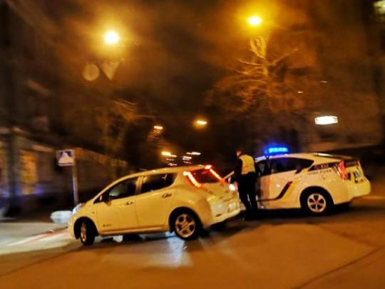 Перекрыты улицы в центре Киева