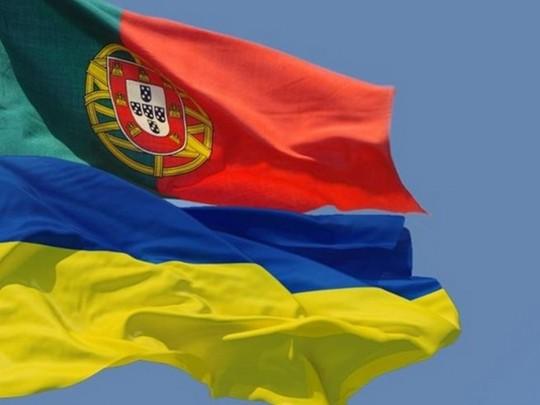 Португалия— Украина: яркие кадры подготовки команд кматчу квалификации Евро