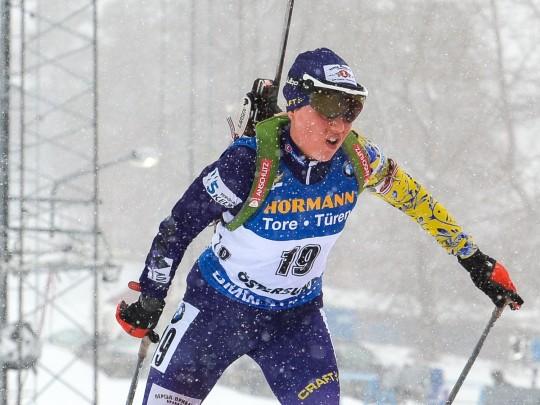 Женская гонка биатлонисток наэтапе Кубка мира вНорвегии