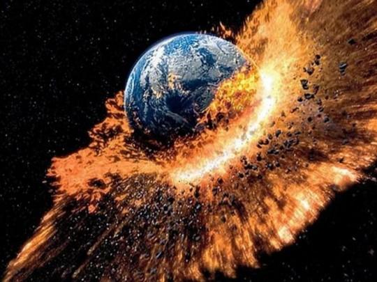 Земля в огне