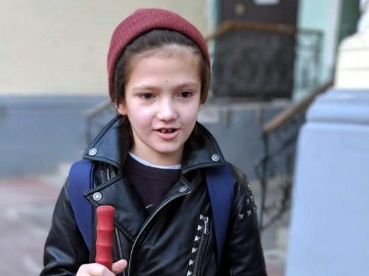 12-летний незрячий Матвей, страдающий аутизмом