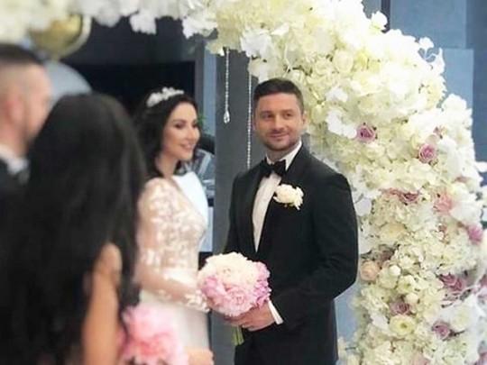 Фото сцеремонии бракосочетания Сергея Лазарева— Свадьба года