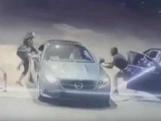 Попытка угона авто