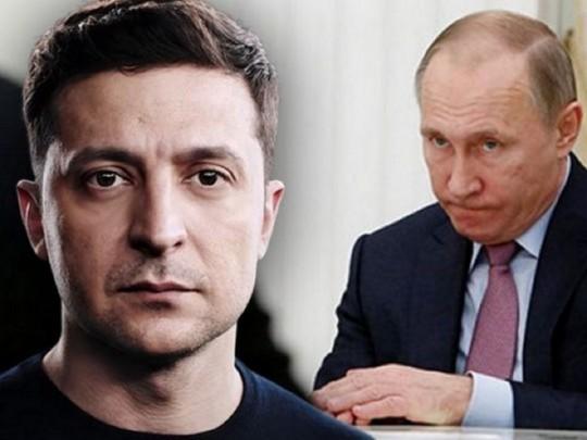 В РФ  поведали  озамешательстве В.Путина  поповоду  Украины иЗеленского