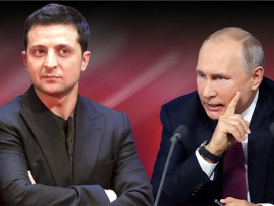 Зеленский: произнесу  Путину, что Крым— это Украина