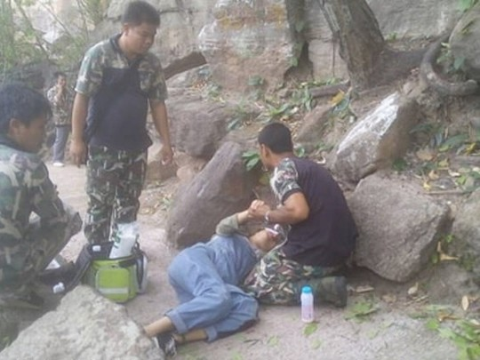 Ван Нан и спасатели