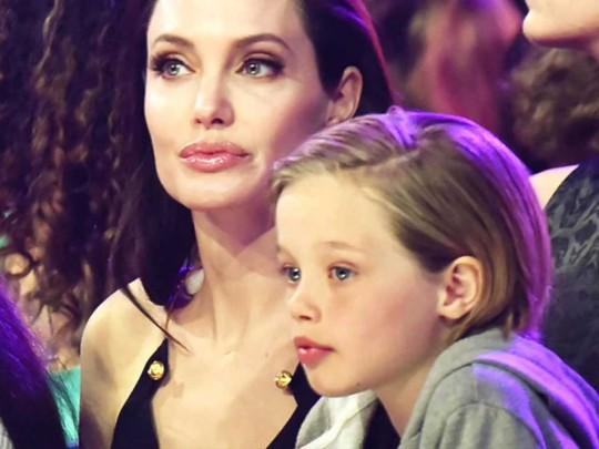 Анджелина Джоли с дочерью