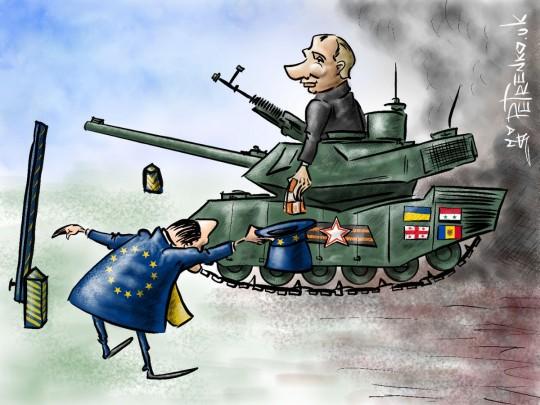 Карикатура на возвращение России в ПАСЕ