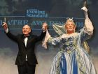 Sir Patrick Stewart and Sir Ian McKellen performed The London Evening Standard Theatre Awards