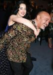 Dita Von Teese and Christian Louboutin The London Evening Standard Theatre Awards