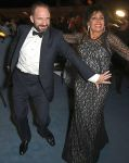 Dame Shirley Bassey and Ralph Fiennes The London Evening Standard Theatre Awards